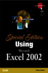 Special Edition Using Microsoft Excel 2002, Adobe Reader by Patrick Blattner