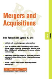 Mergers and Acquisitions by Broc Romanek