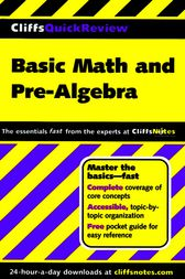 Basic Math and Pre-Algebra by Jerry Bobrow