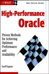 High-Performance Oracle by Geoff Ingram