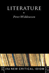 Literature by Peter Widdowson