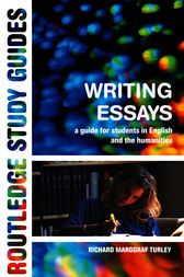 Writing Essays by Richard Marggraf-Turley