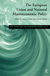 European Union and National Macroeconomic Policy by James Forder
