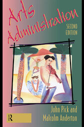 Arts Administration by Dr Malcolm Anderton