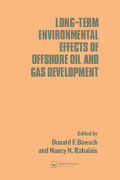 Long-term Environmental Effects of Offshore Oil and Gas