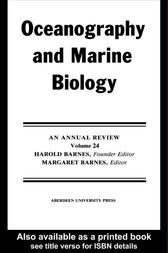 Oceanography And Marine Biology: Volume 24