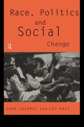 Race, Politics and Social Change by Les Back