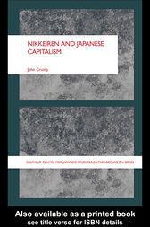 NIKKEIREN AND JAPANESE CAPITALISM