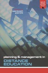 Planning and Management in Distance Education by Santosh Panda