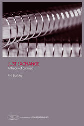 Just Exchange by Francis H. Buckley