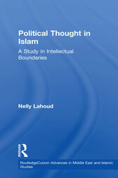 Political Thought in Islam by Nelly Lahoud