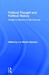 Political Thought and Political History by Moshe Gammer