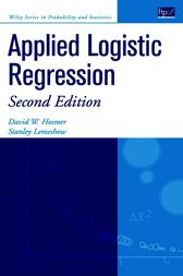 Applied Logistic Regression by David W. Hosmer