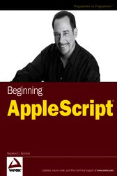 Beginning AppleScript