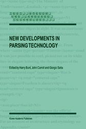 New Developments in Parsing Technology by H. Bunt