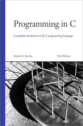 Programming in C by Stephen G. Kochan
