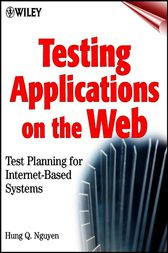 Testing Applications on the Web by Hung Q. Nguyen