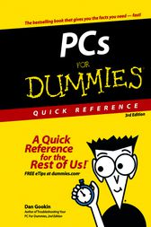 PCs For Dummies Quick Reference by Dan Gookin