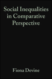 Social Inequalities in Comparative Perspective