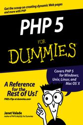 PHP 5 For Dummies by Janet Valade