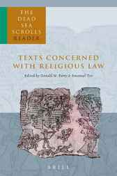 The Dead Sea scrolls reader. Part 1, Texts concerned with religious law
