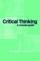 Critical Thinking by Tracey Bowell