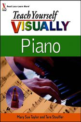 Teach Yourself VISUALLY Piano by Mary Sue Taylor