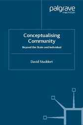 Conceptualising Community by David Studdert