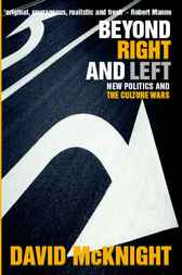 Beyond Right and Left by David McKnight