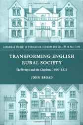 Transforming English Rural Society by John Broad