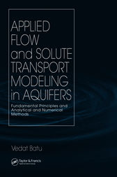 Applied Flow and Solute Transport Modeling in Aquifers by Vedat Batu