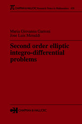 Second Order Elliptic Integro-Differential Problems by Maria Giovanna Garroni