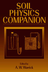Soil Physics Companion by A.W. Warrick