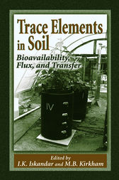 Trace Elements in Soil by I.K. Iskandar