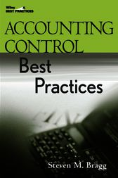 Accounting Control Best Practices by Steven M. Bragg