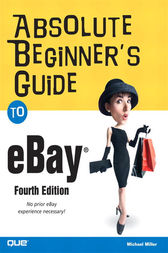 Absolute Beginner's Guide to eBay, Adobe Reader by Michael Miller