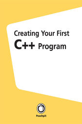 Creating Your First C++ Program