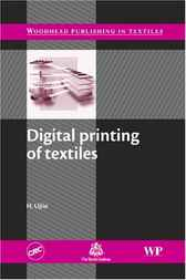 Digital printing of textiles