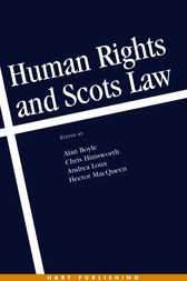 Human Rights and Scots Law by Alan Boyle