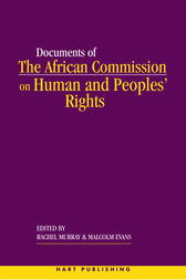The African Commission on Human and Peoples' Rights and International Law by Rachel Murray