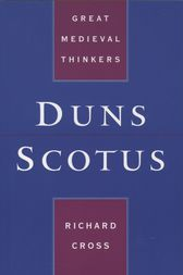 Duns Scotus by Richard Cross