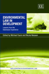 Environmental Law in Development by M. Faure