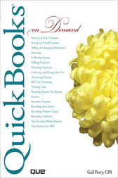 QuickBooks 2007 On Demand (Adobe Reader) by Gail CPA Perry