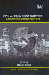 Privatization and Market Development by G. Hodge