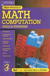 Math Computation Skills & Strategies Level 3 by Kent Publishing
