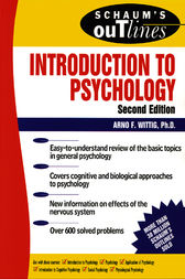 Schaum's Outline of Introduction to Psychology by Arno Wittig