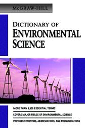 MCGRAW-HILL DICTIONARY OF ENVIRONMENTAL SCIENCE & TECHNOLOGY by McGraw-Hill Education