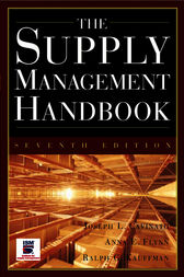 The Supply Mangement Handbook, 7th Ed by Joseph L. Cavinato