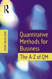 Quantitative Methods for Business by John Buglear