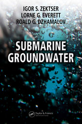 Submarine Groundwater by Igor S. Zektser